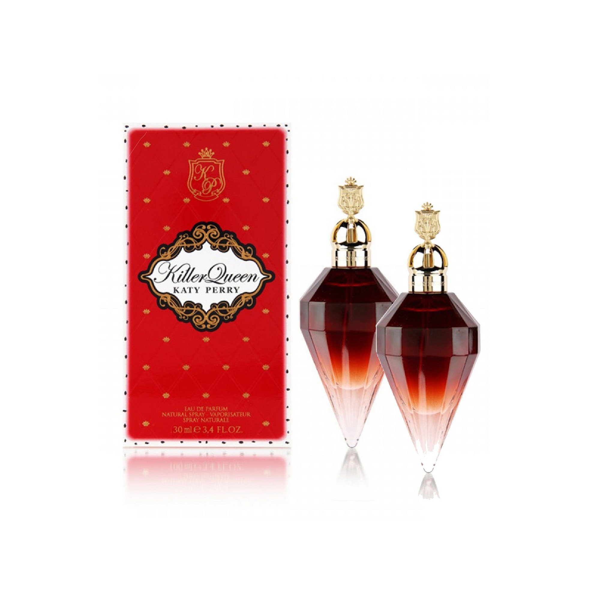 Image of Katy Perry Killer Queen 100ml EDP Twin Pack