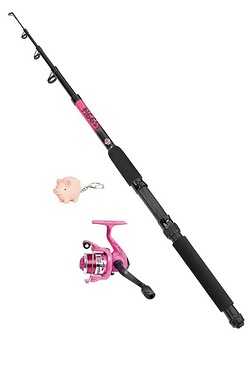 Matt Hayes Adventure Piggsy Children's Fishing Combo