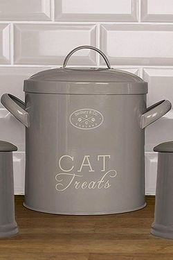 Banbury and Co Cat Storage Tin