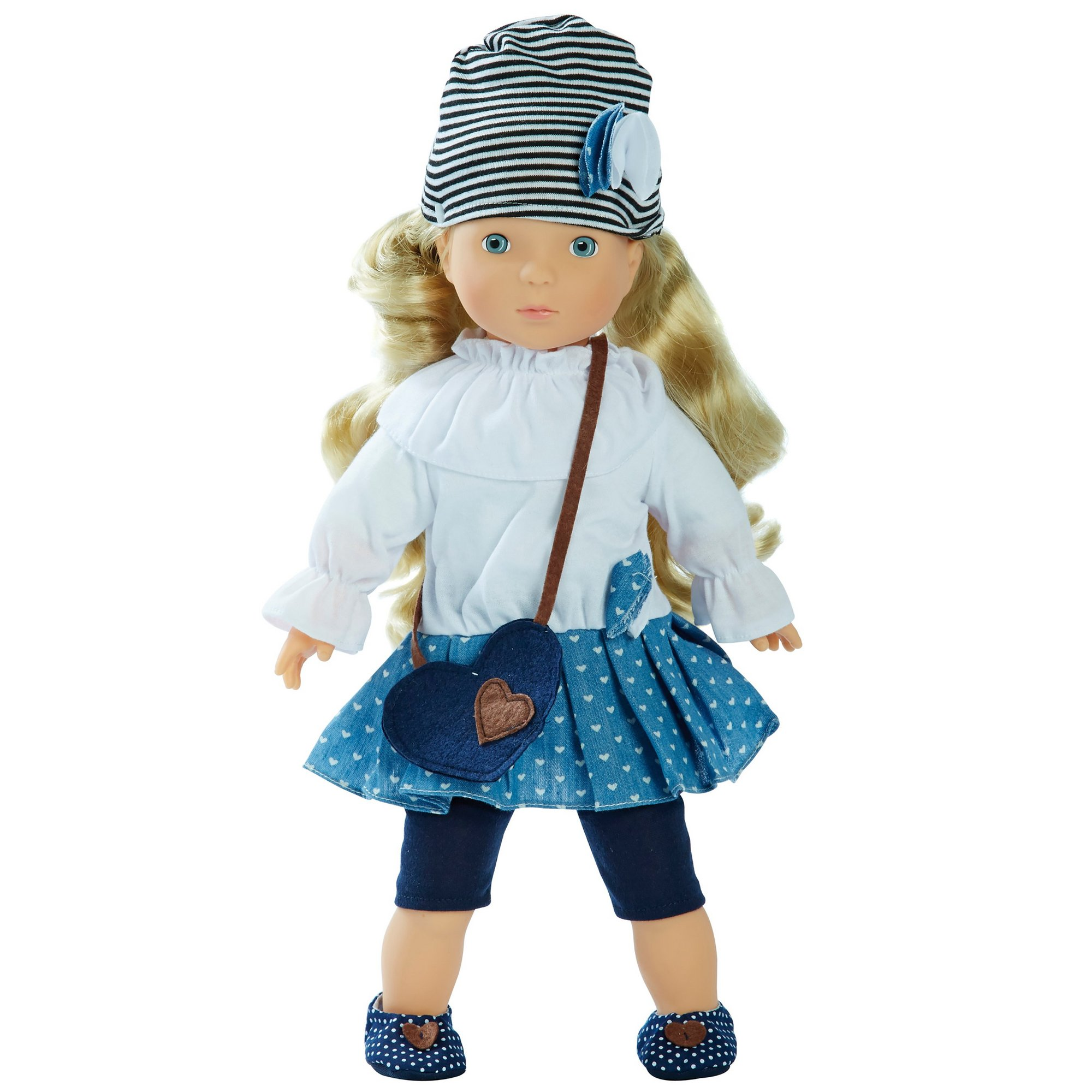 Image of Bambolina Doll Miss Anna with 50 Words