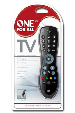 One For All Easy Robust Simple TV Zapper