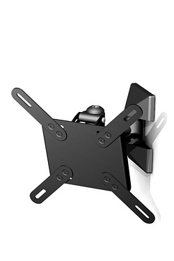 Single Arm Tilt and Swivel Wall Mount - 10-26""