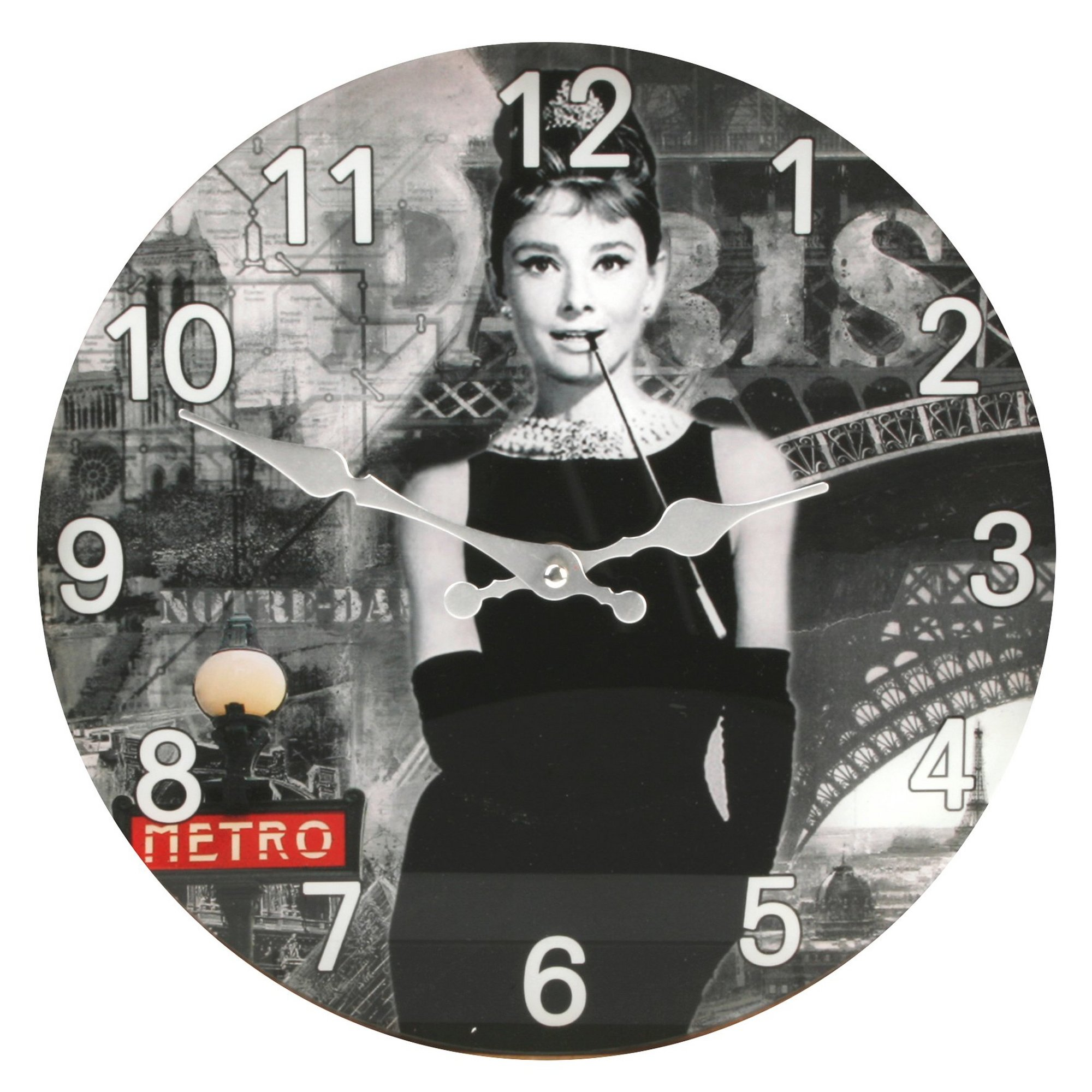 Image of Audrey Hepburn Wall Clock