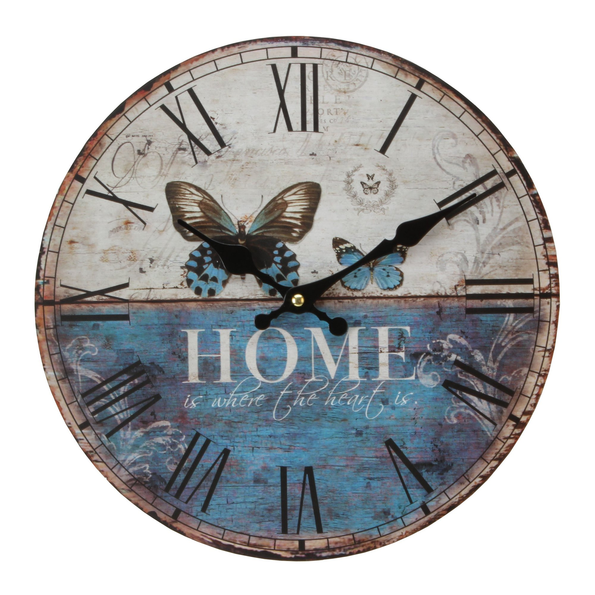 Image of Butterfly Wall Clock