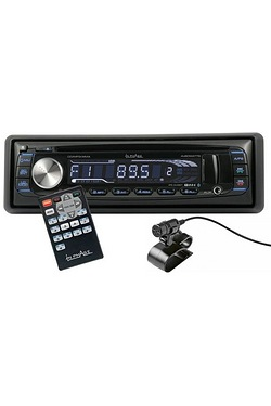 InPhase Bluetooth Car Stereo With Front USB/AUX and Remote Control