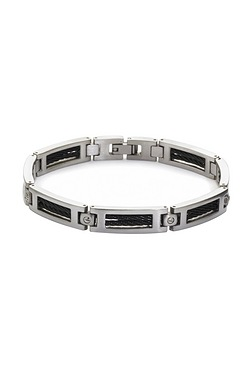 Bracelet With Black Inlays