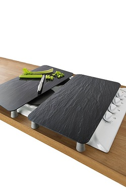 2-In-1 Slate Effect Glass Hob Covers