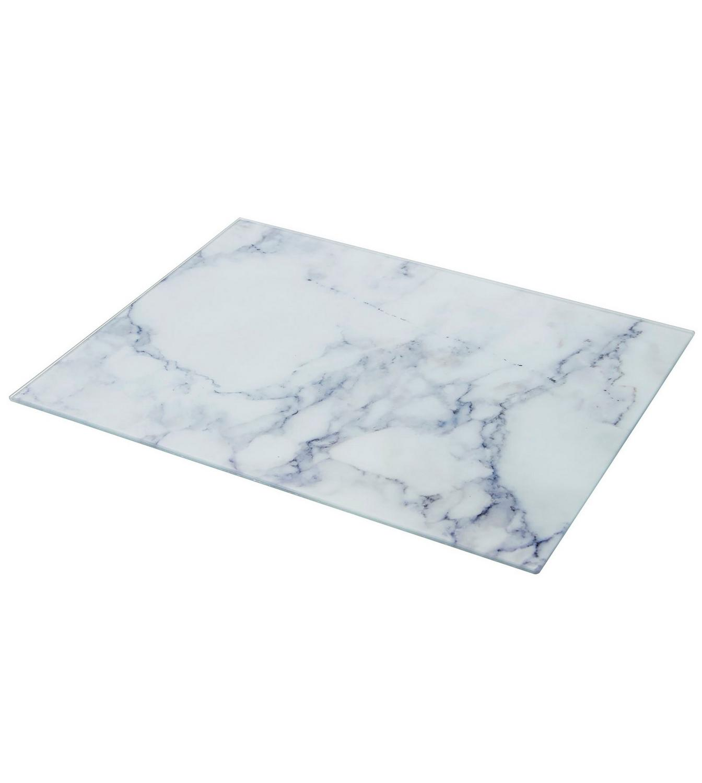 Grey Marble Glass Work Top Saver | Studio