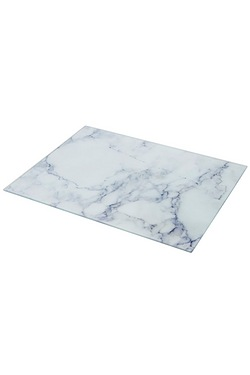 Grey Marble Glass Work Top Saver
