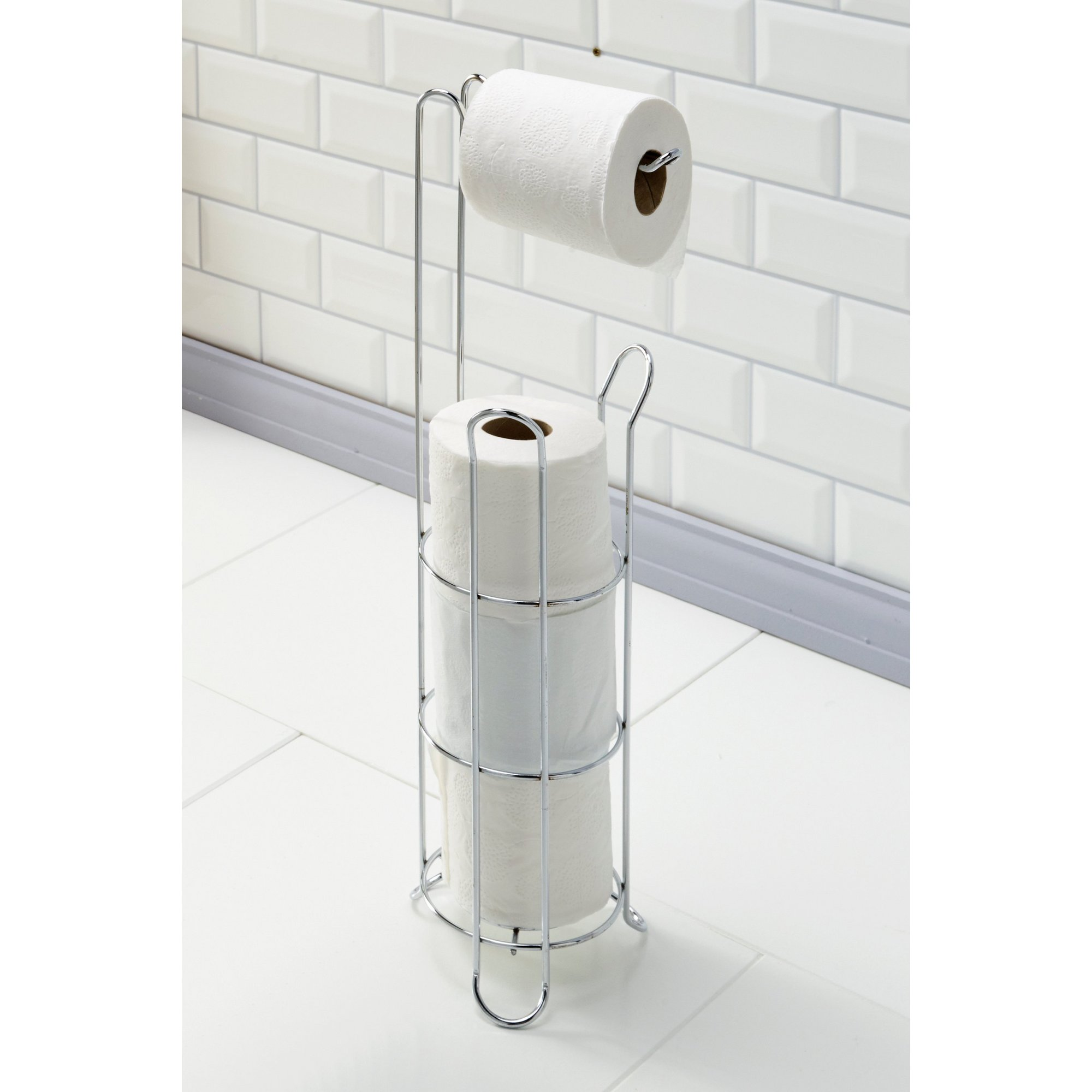 Image of 2 in 1 Toilet Roll Holder