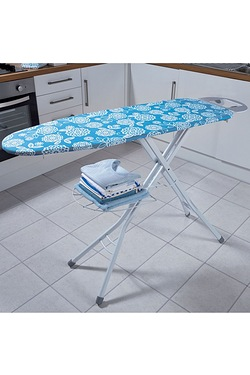 Extra Wide Ironing Board With Rack