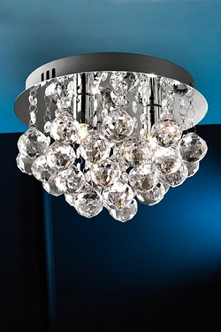 Ceiling wall lights lighting studio chrome deco droplet ceiling lamp mozeypictures Images