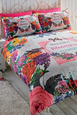 Electique Secret Garden Duvet Set