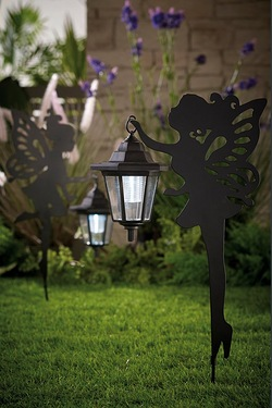 Two Fairies With Solar Lanterns