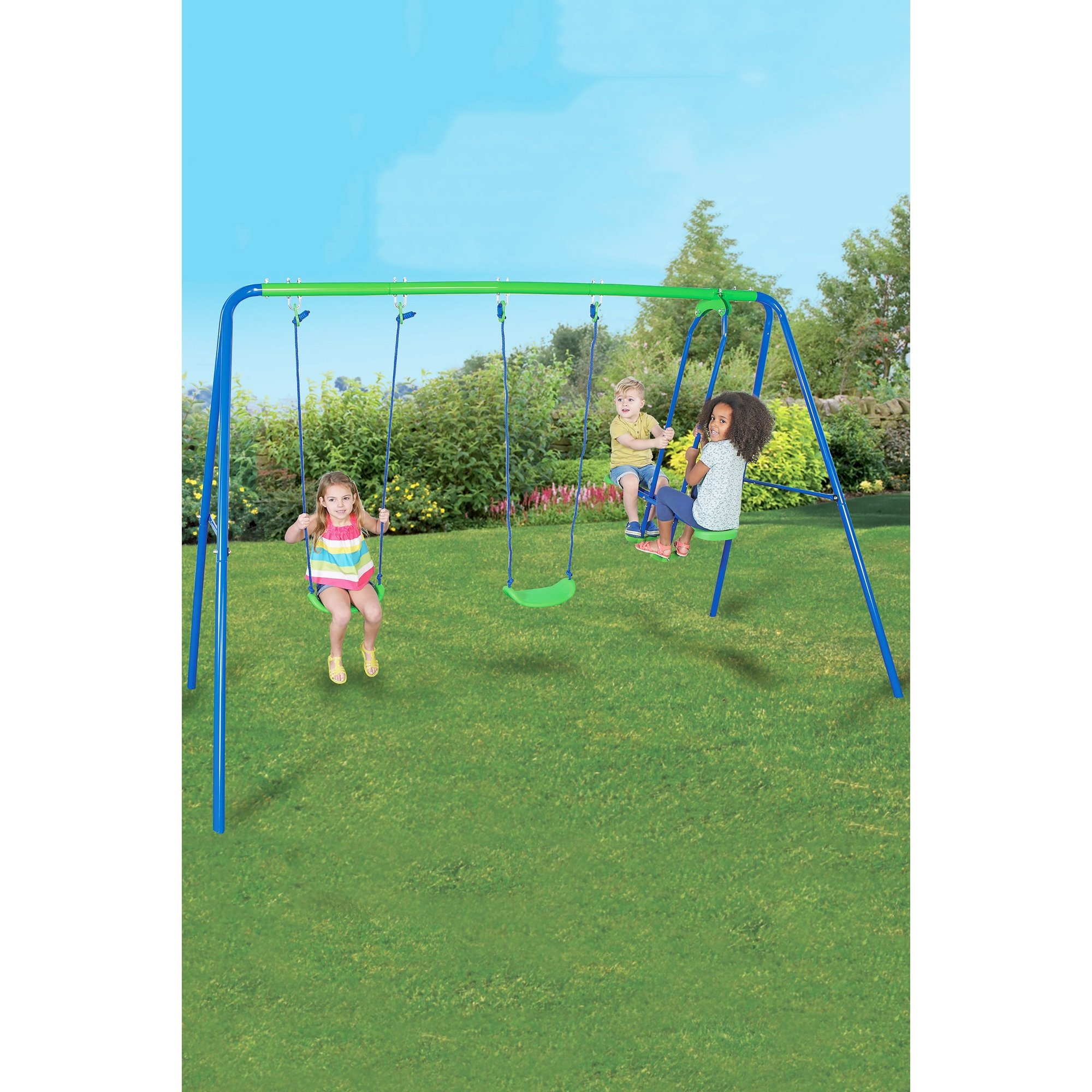 Image of Double Swing and Glider Set