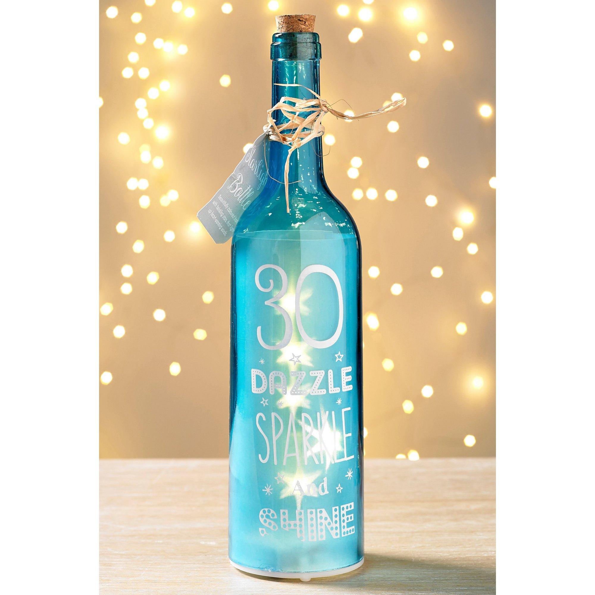 Image of 30th Birthday Starlight Bottle