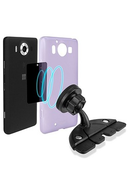 Magnetic Universal Car Phone Holder - CD Slot