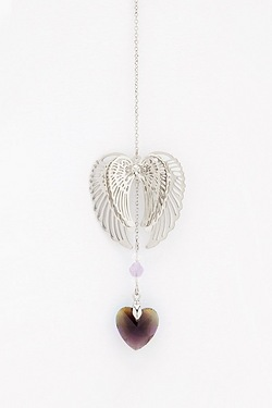 3D Angel Wings Sun Catcher