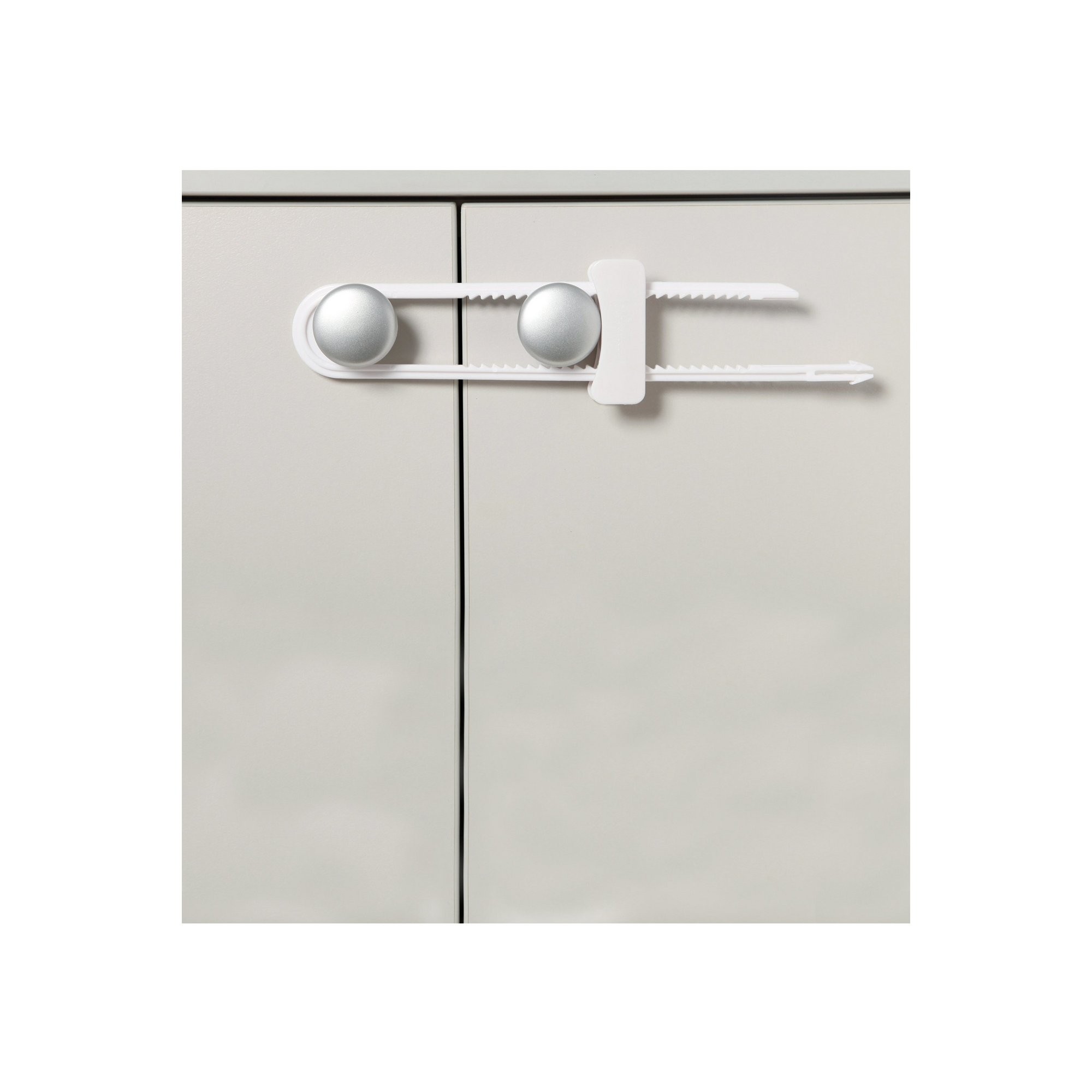 Image of 3 Sliding Cabinet Locks
