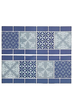 Pack Of 6 3D Border Tiles