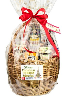 St Kew Christmas Celebration Basket