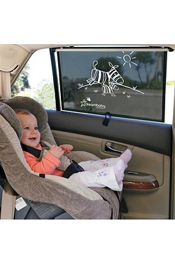 Dreambaby 2 Wide Car Roller Shades