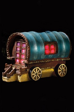 Solar Light Gypsy Rose Caravan