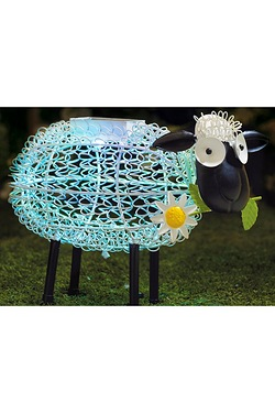 Solar Light Silhouette - Dolly Sheep