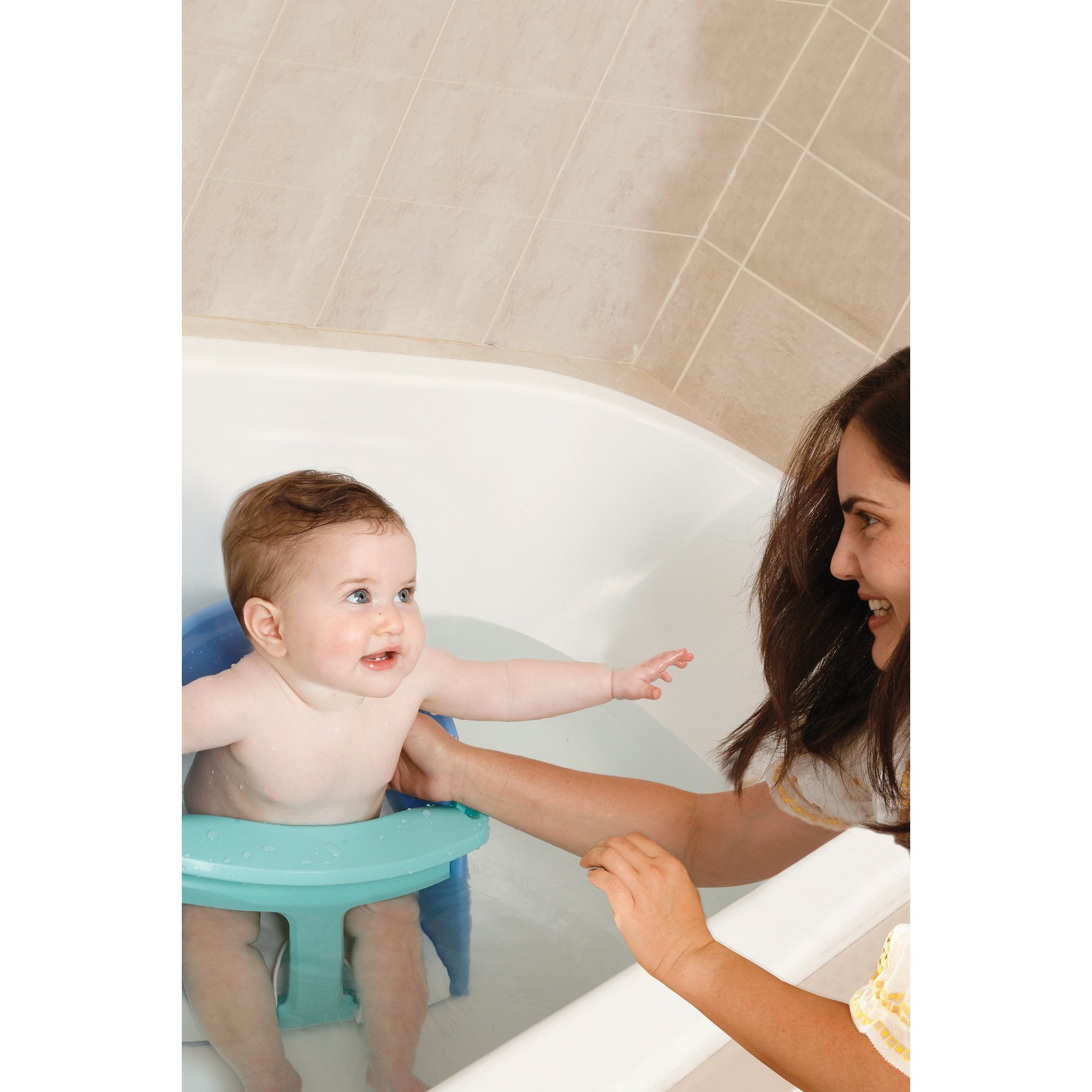 Image of Blue Premium Bath Seat
