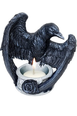 Ravens Ward Tea Light Holder