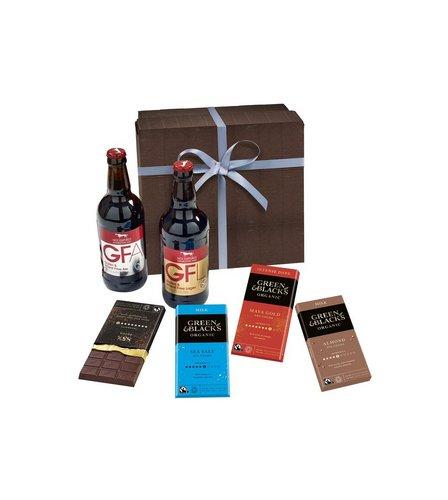 sc 1 st  Studio & Green and Blacks Chocolate and Beers Gift Set | Studio