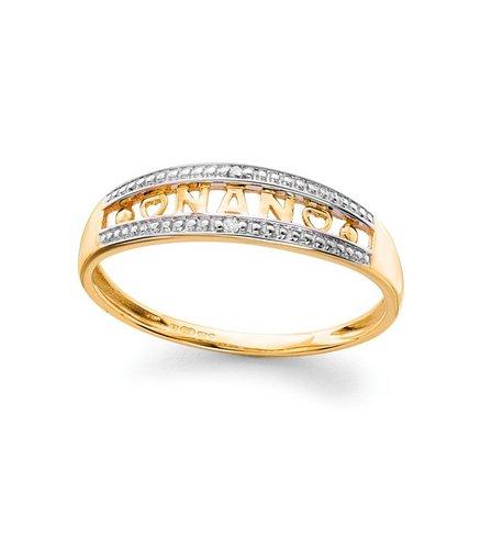 9ct Gold Diamond Ring Nan Studio