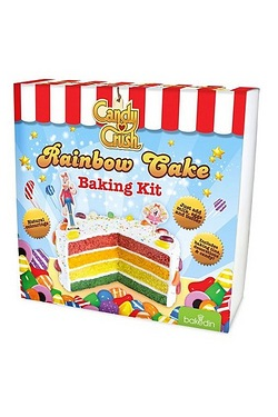 Baked In Candy Crush Rainbow Cake Kit
