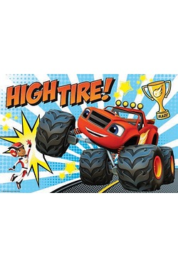 24 Piece Maxi Puzzle - Blaze and The Monster Machines