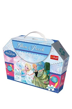 50 Piece Glam Puzzle - Anna and Elsa