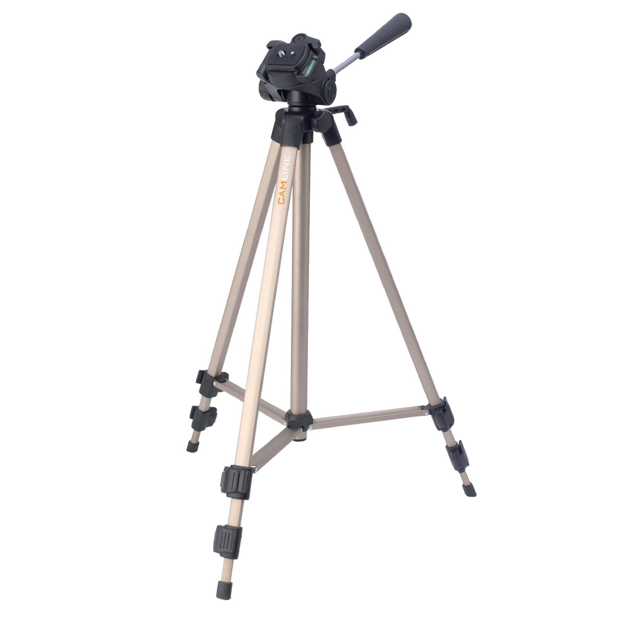 Image of Photo Video 127cm Pan and Tilt Tripod