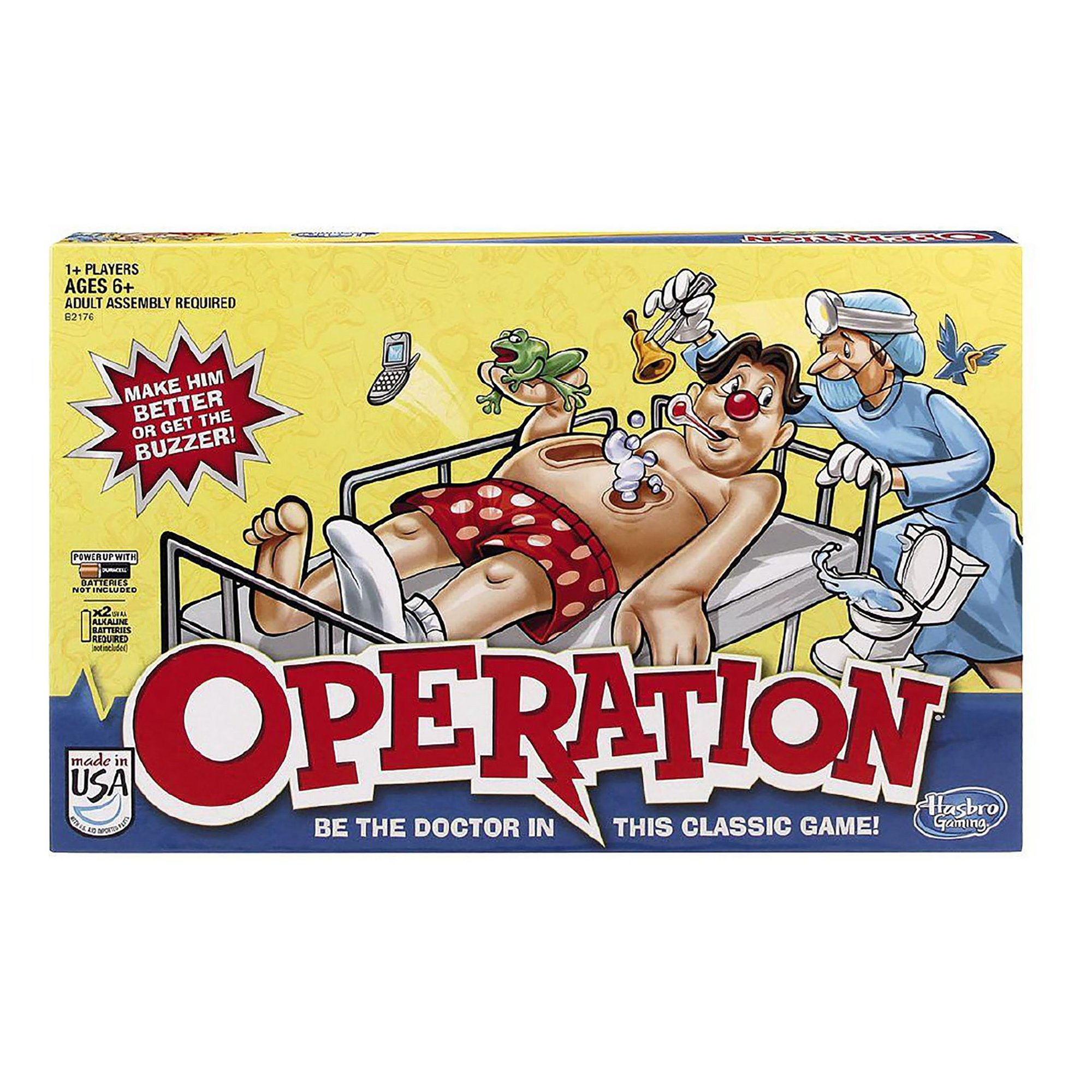 Image of Hasbro Classic Operation Game