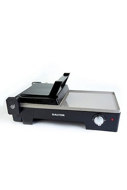 Salter 2-In-1 Marble Fold Out Grill & Griddle
