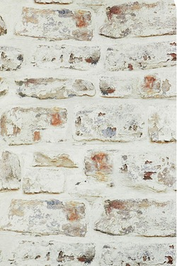 Whitewashed Brick Wallpaper
