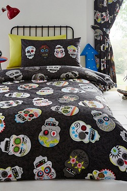Sugar Skull Curtains