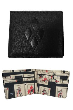 Harley Quinn Embossed Comic Wallet