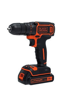 Black and Decker 18V Li-ion Drill