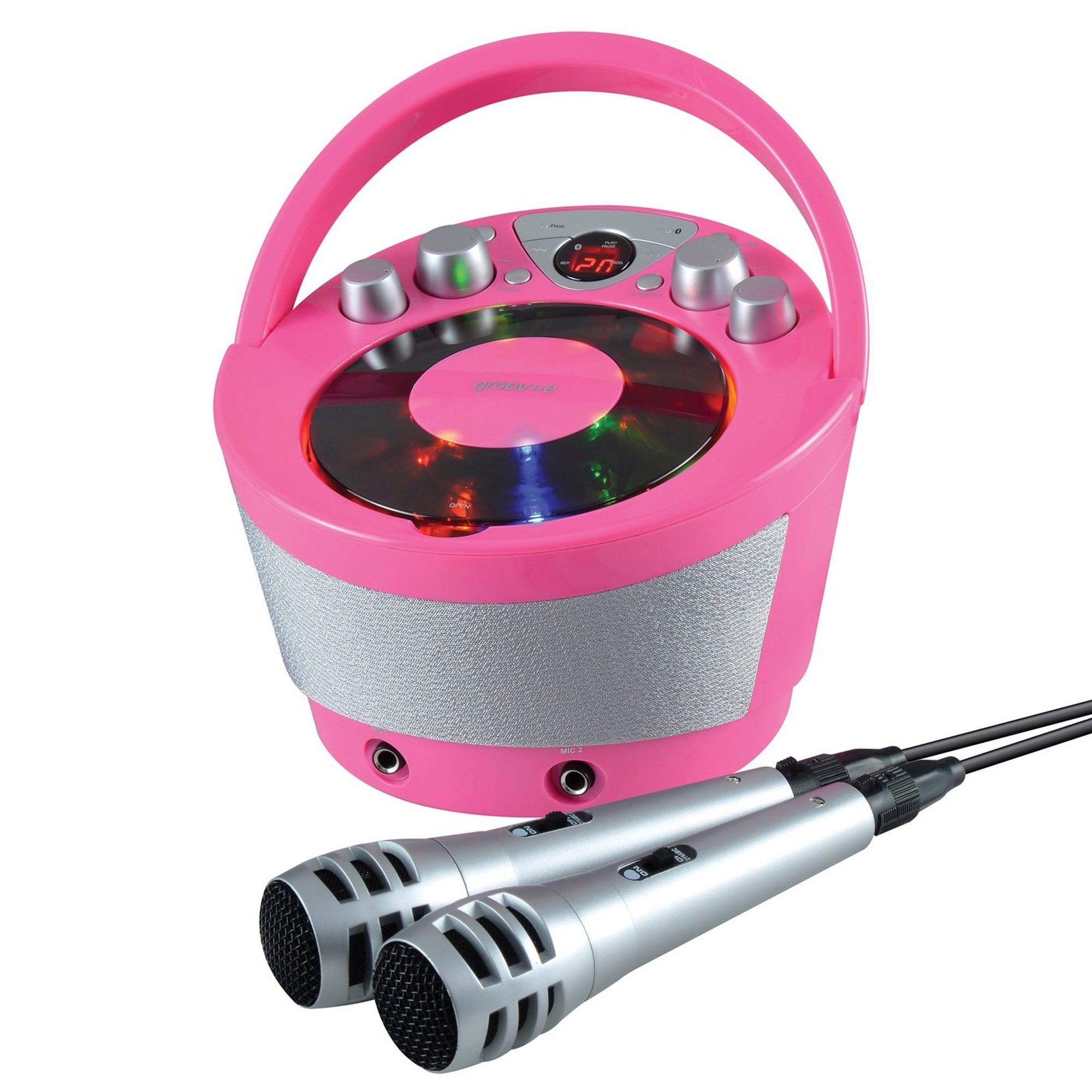 Image of Groove-e Portable Karaoke Machine