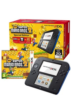 2DS + New Super Mario Bros 2