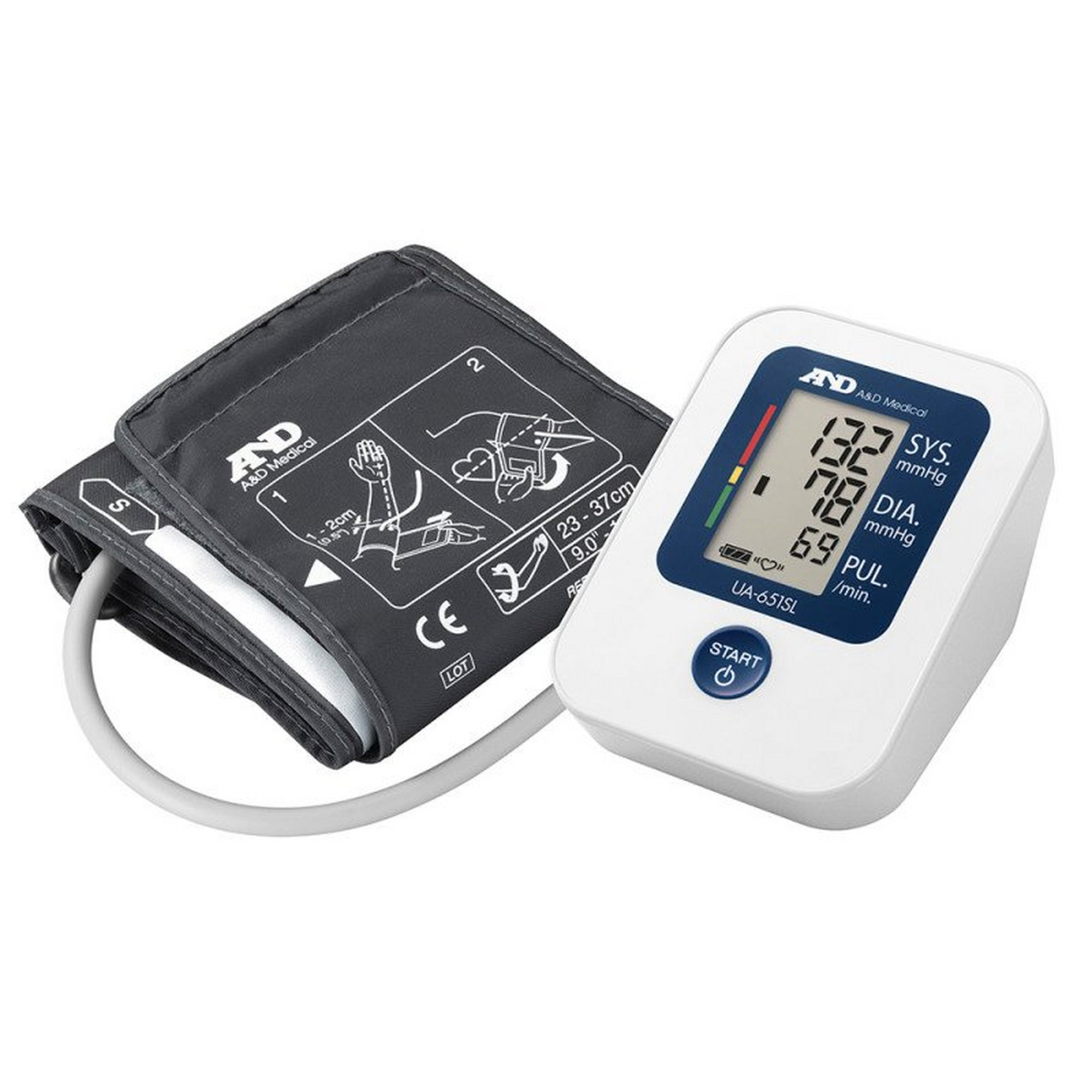 Image of A and D Semi Large Cuff Blood Pressure Monitor