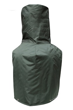 Gardeco Clay Large Chiminea Cover