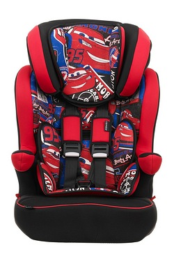 Obaby Cars 1-2-3 High Back Car Booster Seat