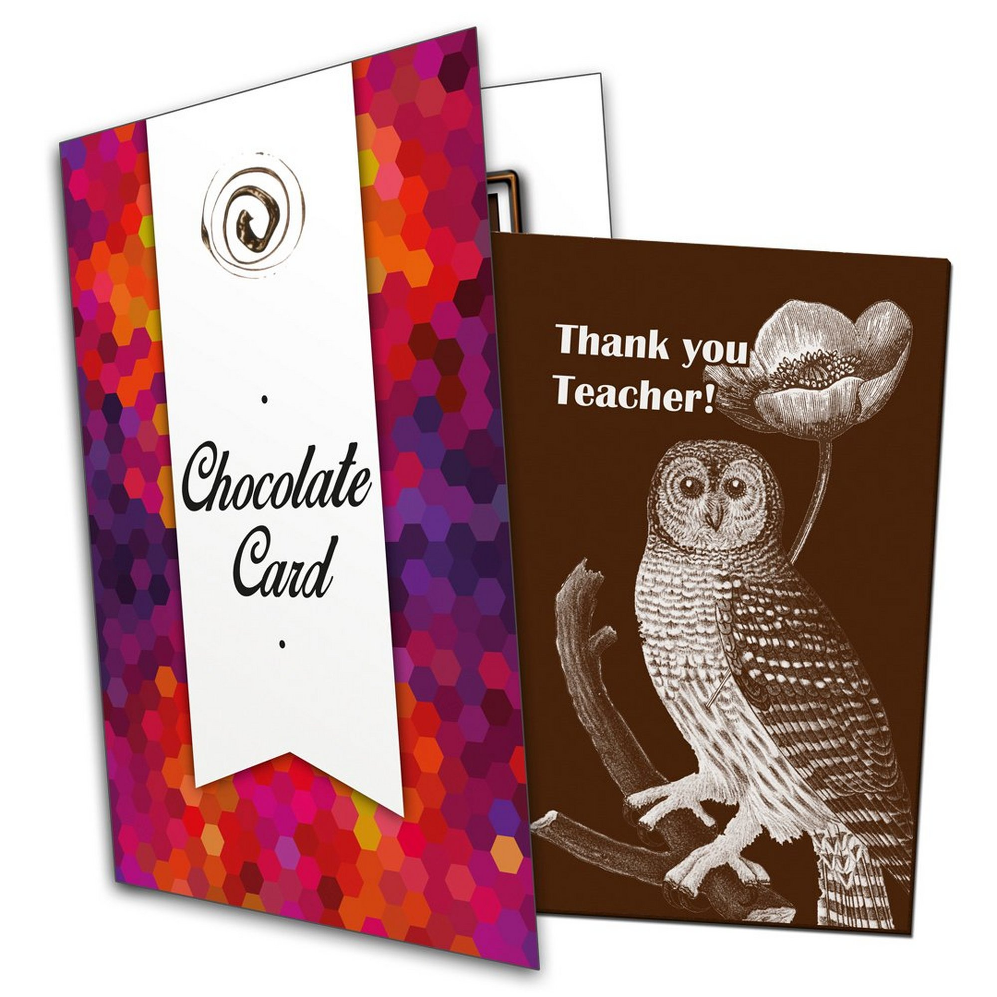 Image of Thank You Teacher Chocolate Card