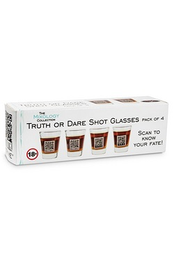 Mixology Truth or Dare Shot Glasses