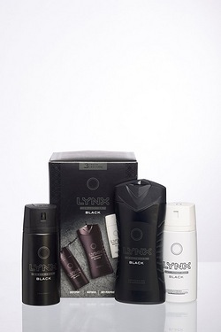 Lynx Trio Black Gift Set